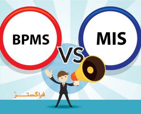 تفاوت راهکار BPMS با نرمافزارهای MIS
