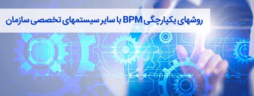 روشهای یکپارچگی BPM با سایر سیستمهای تخصصی سازمان