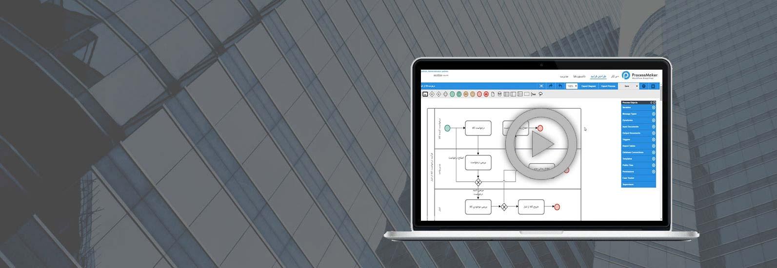 آموزش آنلاین اتوماسیون اداری و مدیریت فرایندها