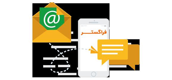 اطلاع رسانی خودکار از طریق ایمیل و پیامک در دبیرخانه فراگستر