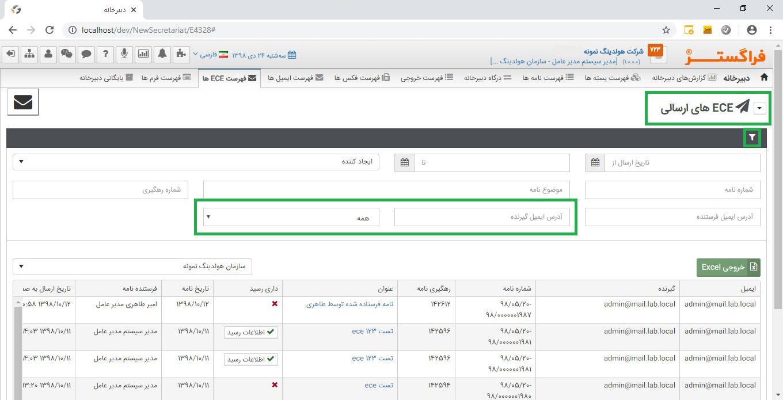 بهینه سازی سرویس ایمیل