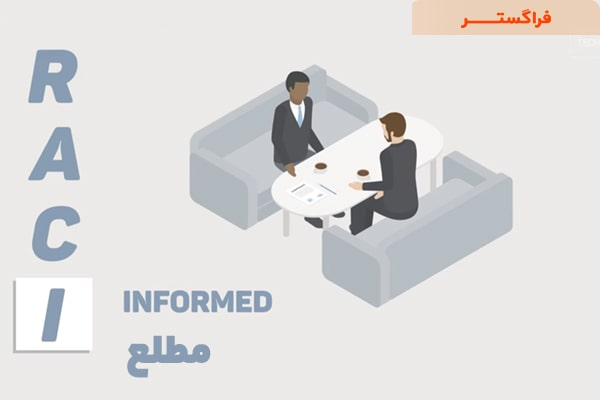نقشها و مسئولیتهای ماتریس RACI